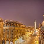 View of Vendome from our Balcony at Night