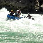 Rafting over the wall with camp RapidFire
