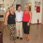  the night receptionist with me and deb
