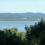  View of the Hudson from the Adirondack chairs