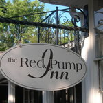 The Red Pump Inn sign