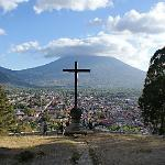 La Antigua from the Hill of the Cross