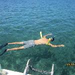 Snorkeling and Relaxing