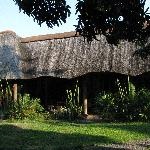 Beautiful thatched African rooves