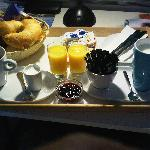 breakfast in hotel