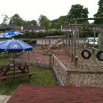  Beer garden and childrens play area
