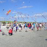 A kite festival made this visit special.