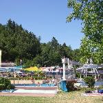 The waterpark above Trittenhein and Leiwen in the neighbourhood