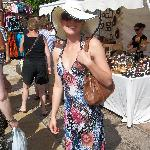  Emma at the market