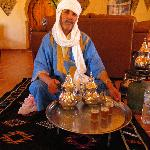 Moroccan Man Serving Tea
