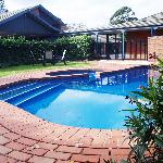 Great onsite facilities including our swimming pool