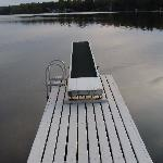 Dive off the deck into a lake of calm.