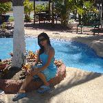  iio en la picinaaa :D me encanta visitar Cerritos Resort