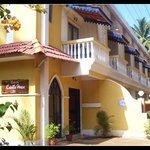 old Portuguese goan style exterior (BUDGET  PLACE