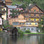 A picute from the ferry to Hallstatt from the train station