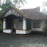 One of the cottage at Tharavadu