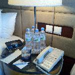 Bottled water should be provided daily, at least ... 10 bottles per day for my room.