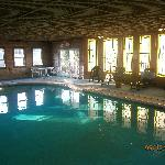  The indoor pool...!