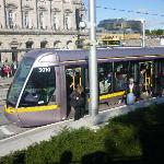 """luas"" (tram) that took us daily to the city centre"