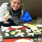 Abo, Cheese, Wine - perfect combo