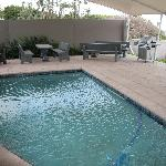 Swimming Pool with Gas Braai Facility