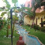  o jardim maravilhoso do hotel