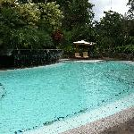 Main pool by the breakfast area