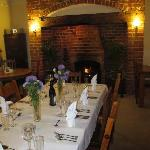  Church Farm dining room