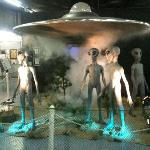  Roswell UFO Museum display