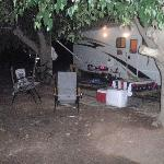  Shady campsite @ Slickrock in Moab Utah