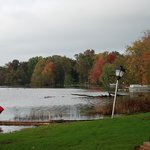 View from grounds of Lakehouse