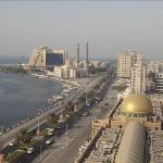 Roof top view of city , Al Jazeerah Hotel Sharjah UAE
