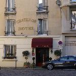 Hotel Chatillon entrance