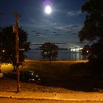  Pictou by Moonlight: View from balcony of Silver House