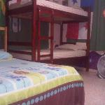 cama doble en Dorm