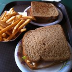 Sandwiches & fries