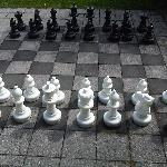  Big Chess for play in courtyard