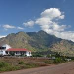Arc hotel and the Uluguru Mountains
