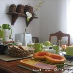  Brazilian Breakfast - with tropical fruits and natural juices