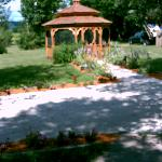 Gazebo at Aquarian Garden
