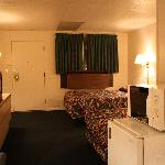 Stockmans Motel - Two Queen Beds Non-Smoking Spacious Rm Interior - Ontario, Oregon