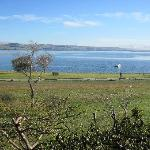 View from the Lodge on Lake Taupo