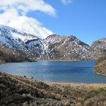  One of the lakes in Tongariro park