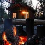 Alaska Hooksetters cabin and Fire