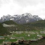 Khumjung village (green valley)