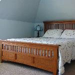 Quiet bedrooms with comfy beds
