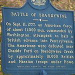 sign at entrance to battlefield