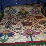 The quilt on our bed