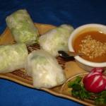  Fresh spring rolls