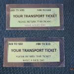 free bus transfer ticket